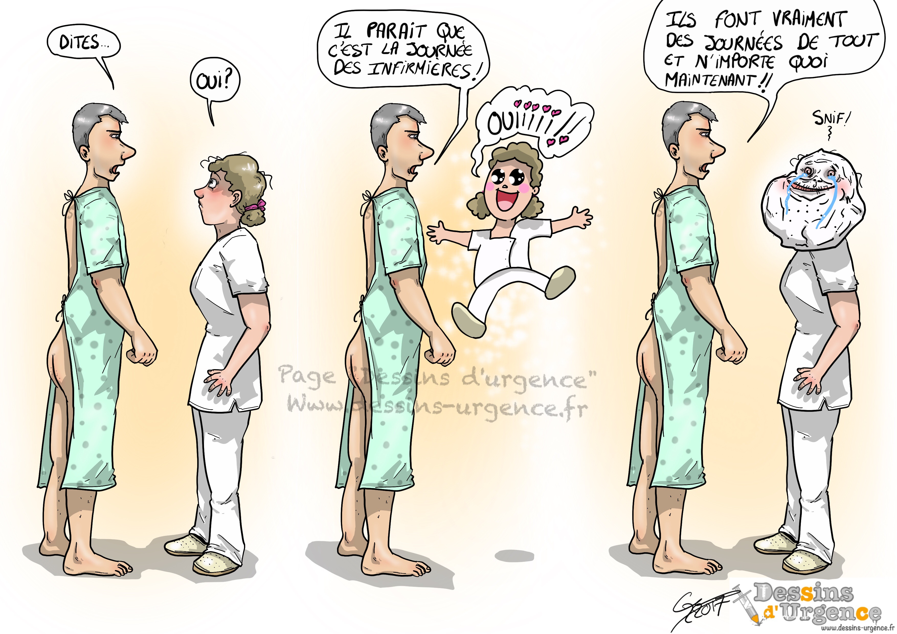 Journée des infirmières
