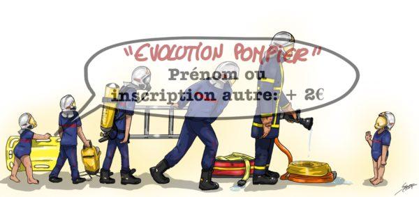 Evolution pompier